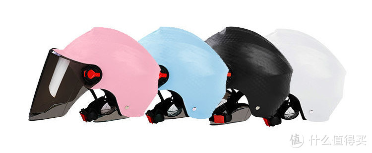 常见的PP类型的头盔,大都以纯色外壳为主