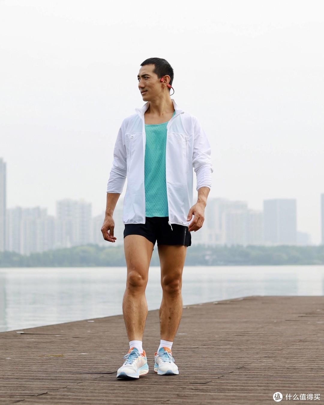 比皮肤衣更好穿跑步风衣,优极UG秋冬跑步风衣体验
