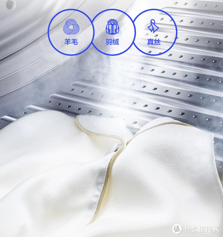 衣物洗后自带香气!海尔推出洗烘一体洗衣新品:香护SPA、直驱电频