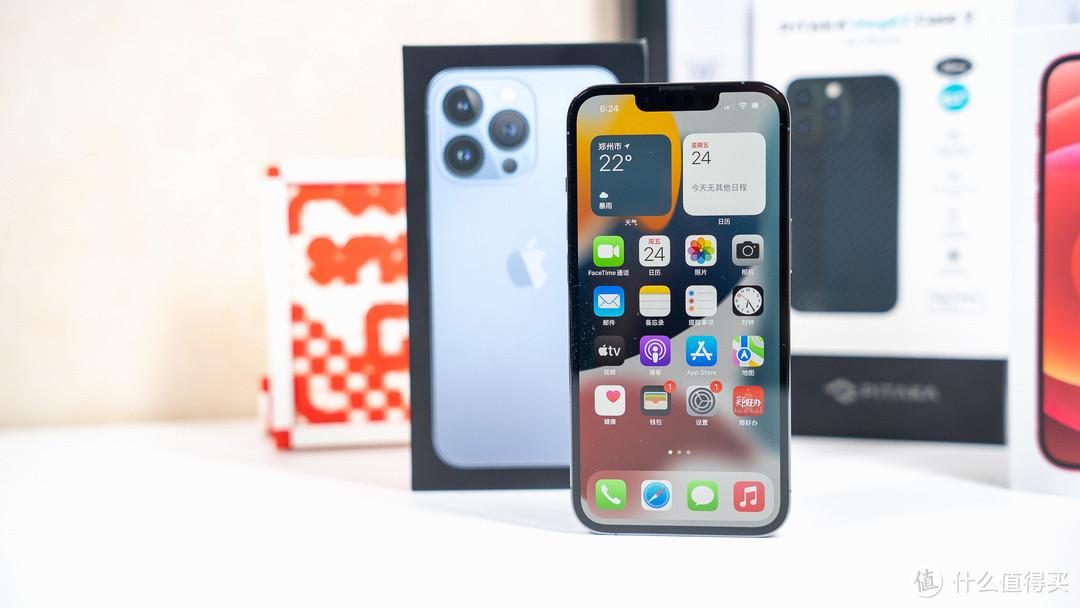 快速上手开箱:万象城自营店自取iPhone 13 Pro远峰蓝配色