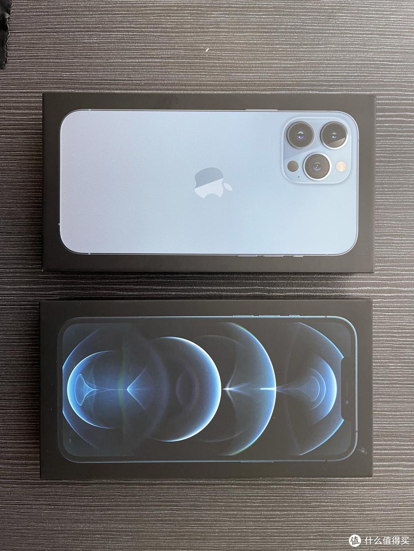 iPhone13 pro max 远峰蓝128G入手