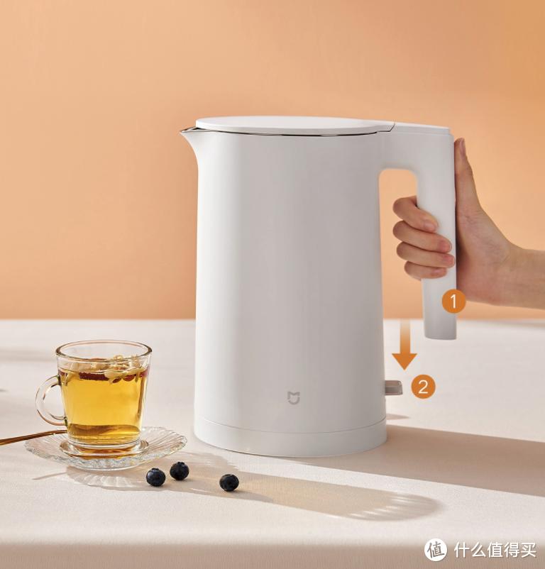 米家电水壶2正式开售:7字型手柄设计、1.7L大容量