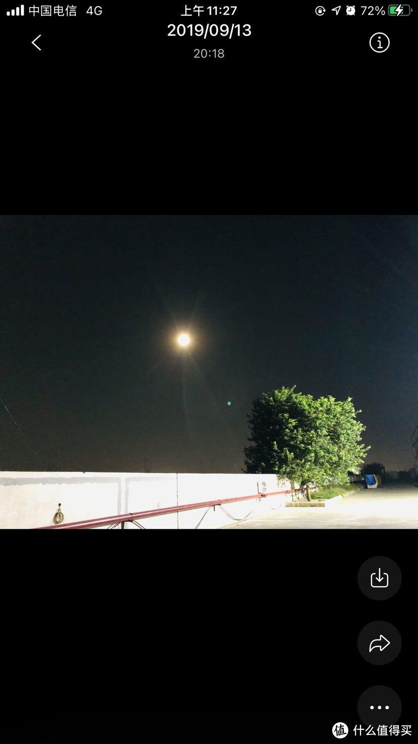 印度的月亮,有点想家了