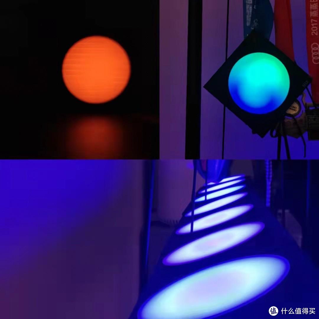 支持高度自编,可作为桌面氛围渲染和Vlog背景墙的Cololight量子灯,可玩性极高