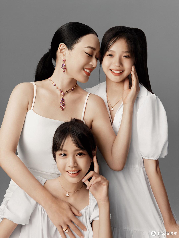 钟丽缇、张思捷、张凯琳演绎宝格丽Divas' Dream系列珠宝