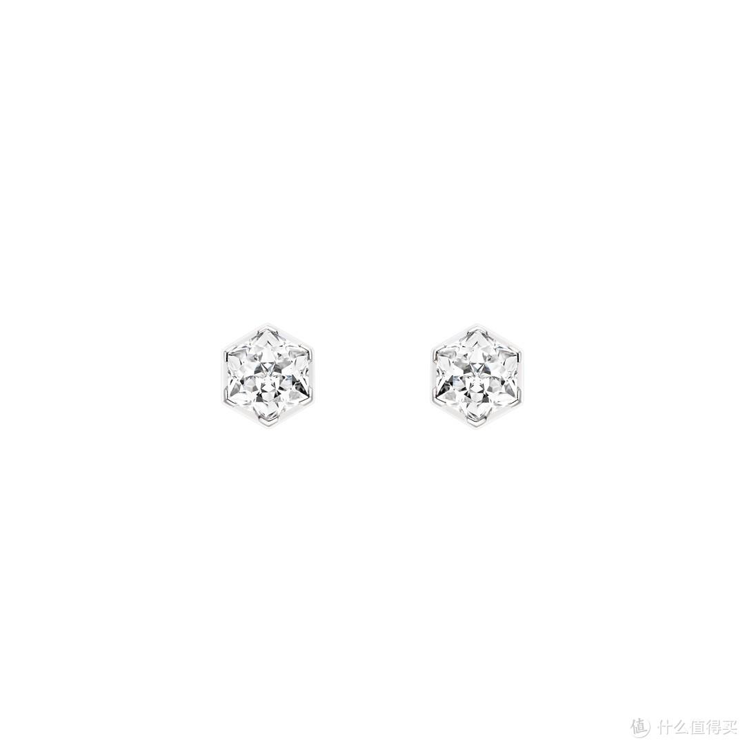 CHAUMET BEE MY LOVE 白金钻石耳环 ¥95,000起(根据钻石4C实际定价)