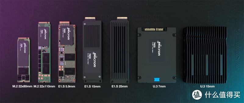 美光发布 7400 SSD系列,7种尺寸规格,至高7.68TB容量