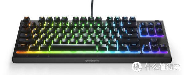 赛睿发布 Apex 3 TKL 游戏键盘,IP32防尘防水、非机械轴